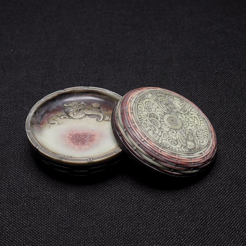 紫袍玉石砚